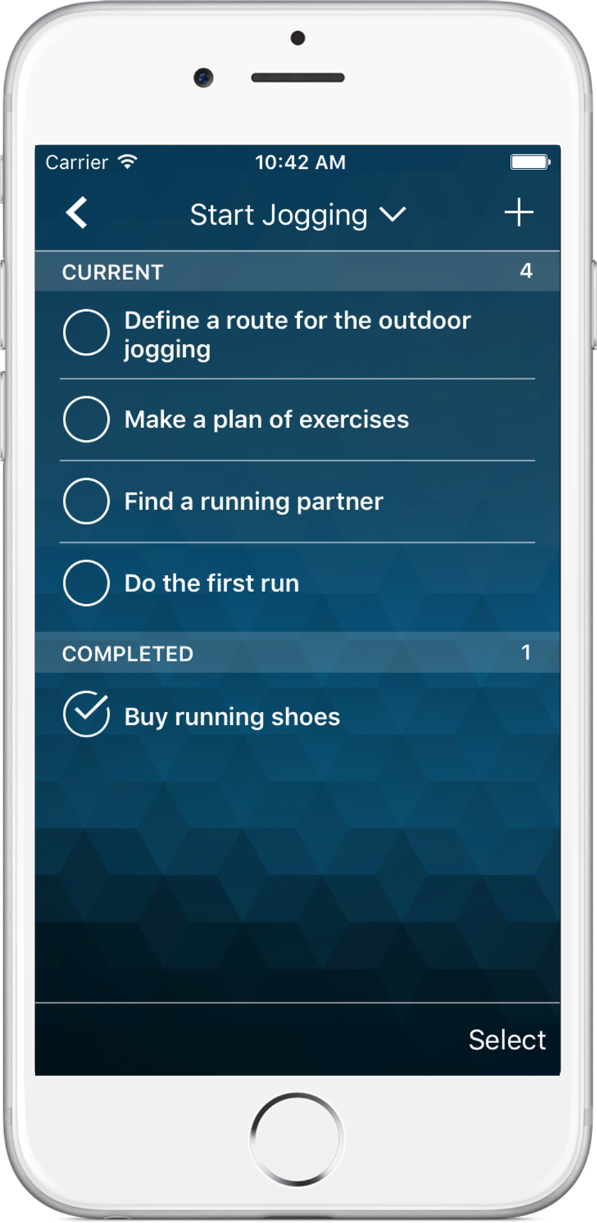 Time Pro para iPhone - To-do list